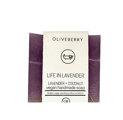 Oliveberry Handmade Vegan Soap - Life in Lavender