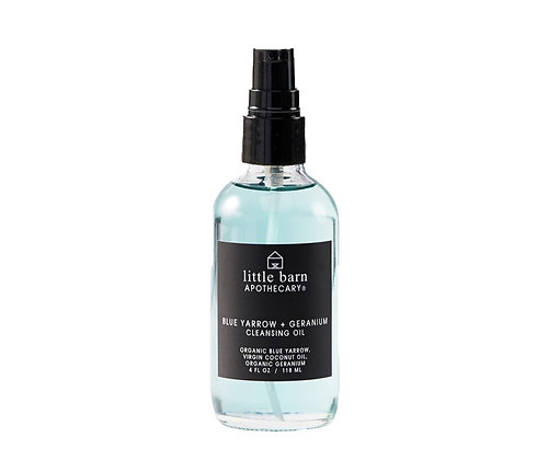 Litte Barn Apothecary Cleansing Oil - Blue Yarrow + Geranium