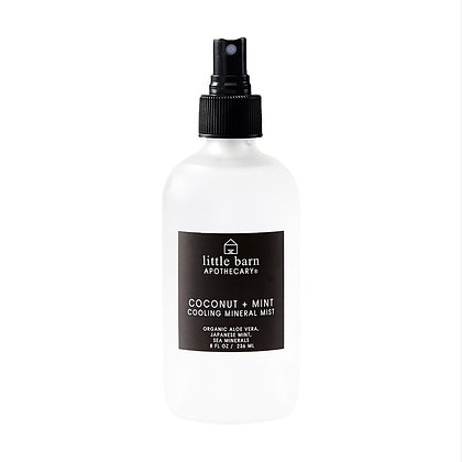 Little Barn Apothecary Cooling Mineral Mist - Coconut + Mint