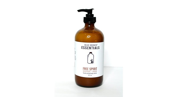 Olive Branch Essentials Handcrafted Lotion - Free Spirit