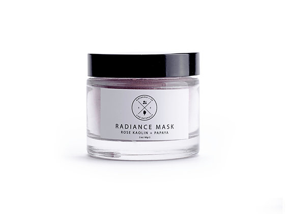 Birchrose Radiance Mask - Rose Kaolin + Papaya