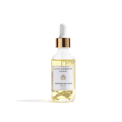 Lotus Flower Om Body oil - Bohemian Funk
