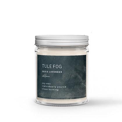 Tule Fog Soy Candle - Sea + Lavender  7oz