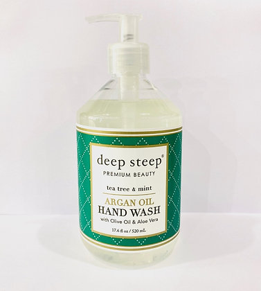 Deep Steep Hand Wash - TeaTree + Mint