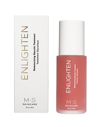 MS Skincare Enlighten Retexturizing Glycolic Treatment