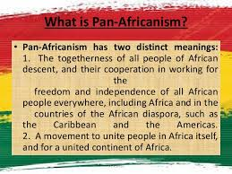 Meaning of PanAfricanism