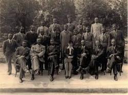 Members of the original Panafrican congress