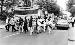 Pan African Congress march