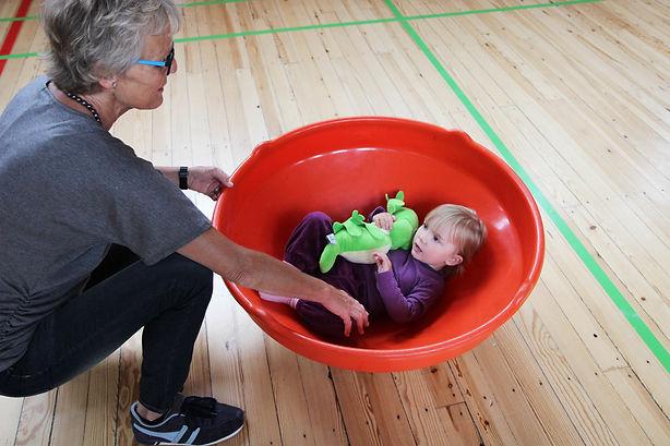 Børn og motorik redskab tumelumsk