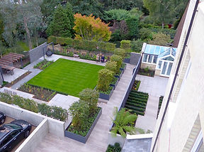 We Specialise In Designing Gardens And Landscapes That Use Strong Geometry Combined With Layers Of Planting To Create Dynamic