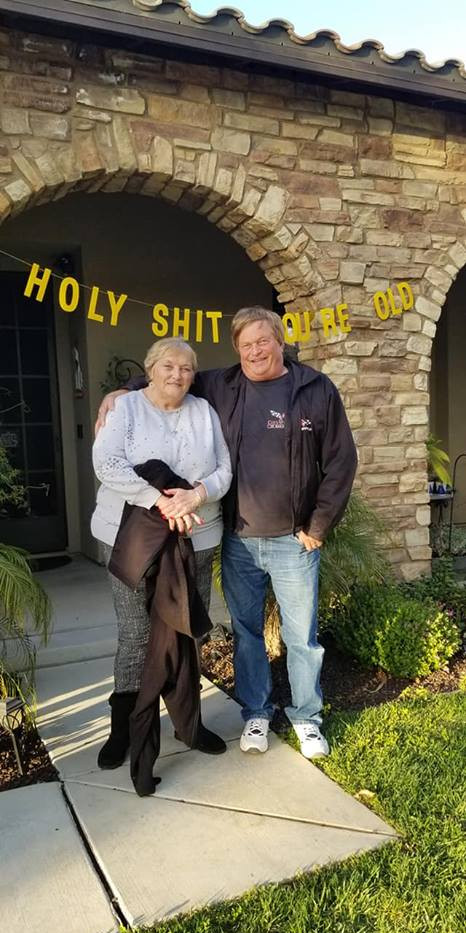 Craig & Jo H. his 70th.