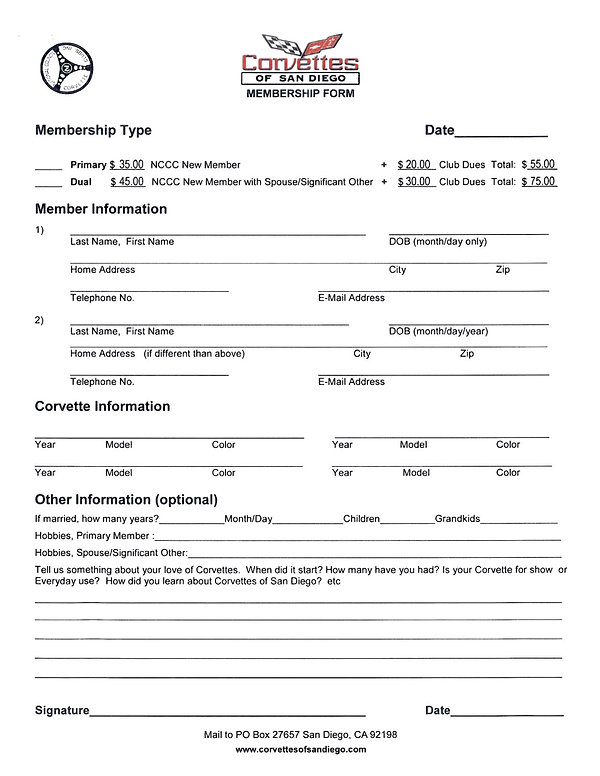 CofSD  Club membership application.jpg