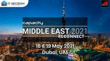 18 - 19 Мая! Встречайте ITD Telecom на Capacity Middle East 2021: Reconnect!