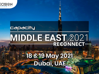 18 - 19 Мая! Встречайте ITD Telecom на Capacity Middle East 2021: Reconnect!