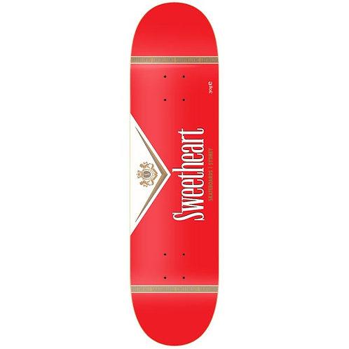 Sweetheart skateboards Winnie red