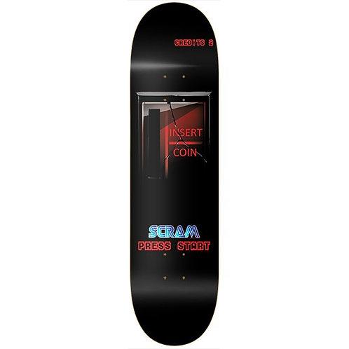 Scram Skateboards Press Start