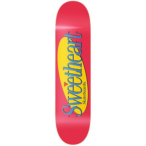 Sweetheart skateboards Seinfeld Red