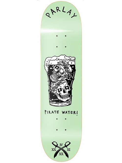 Parlay skateboards Pirate Water