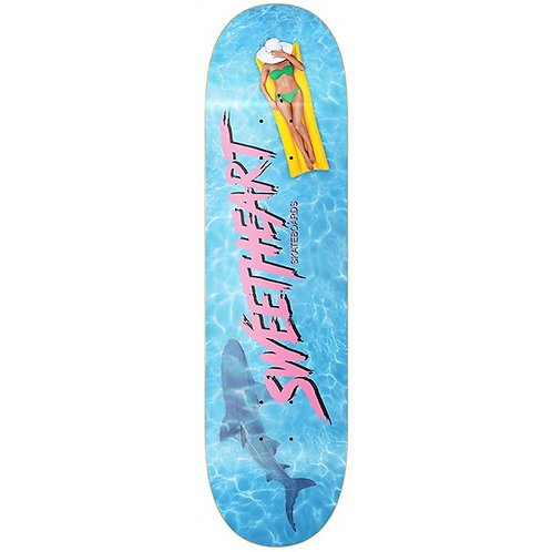 Sweetheart skateboards Pool Party deck