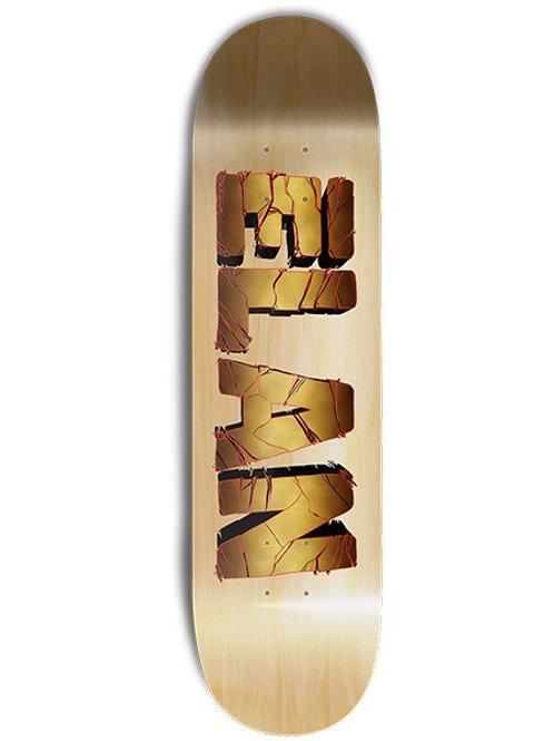 Elan Skateboards Zilla logo GOLD