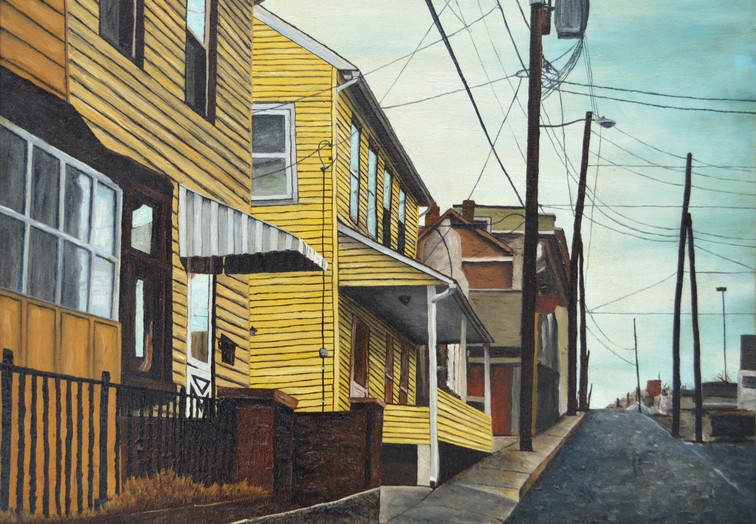 Side Street on the Northside (E. Raspberry St.)