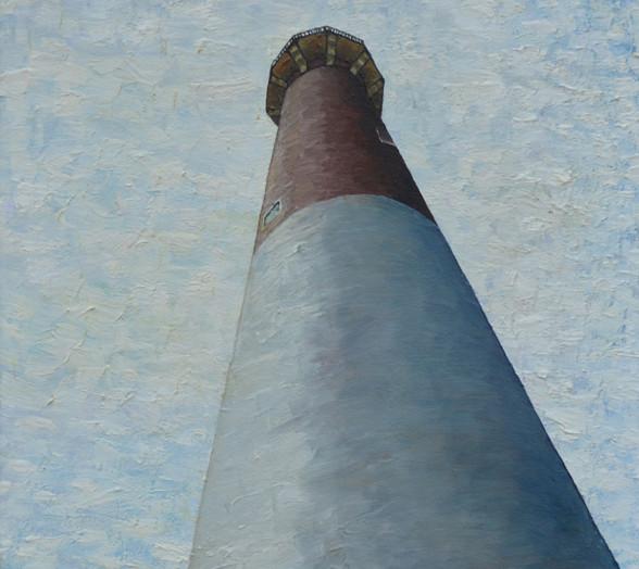 Barnegat Lighthouse (looking upward)