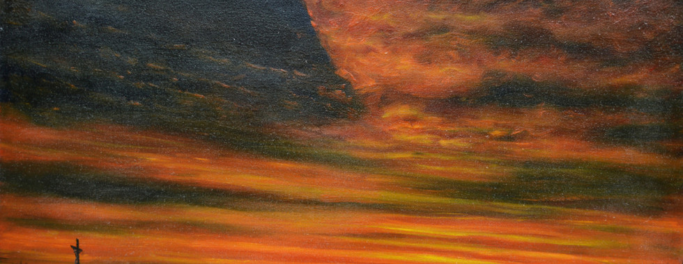 Sky of Fire and Evening Star