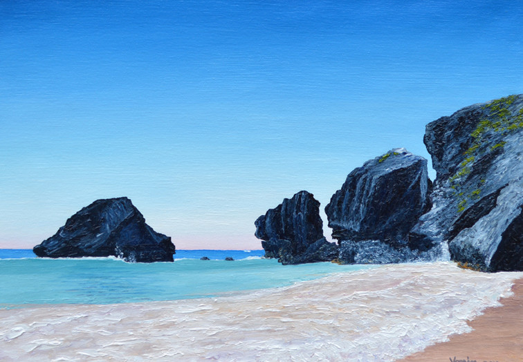 Rocks at Horseshoe Bay (Bermuda)
