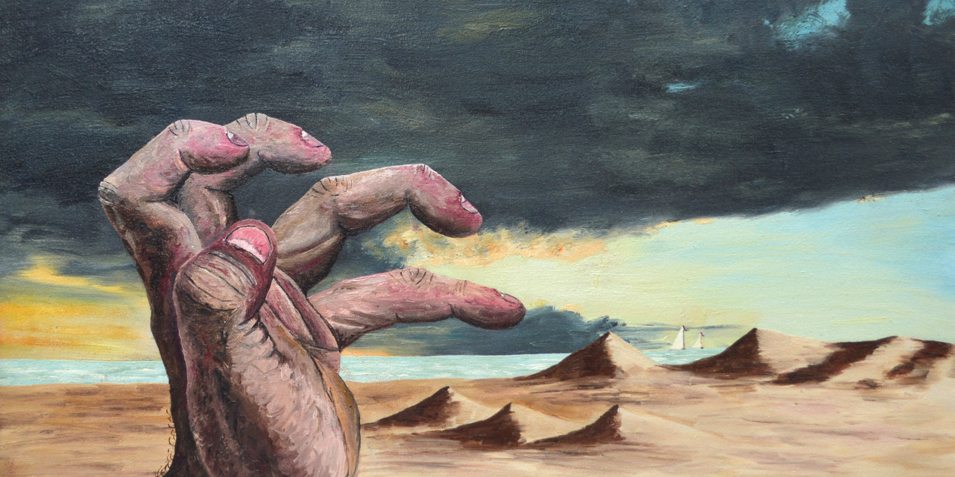 The Hand and the Beach