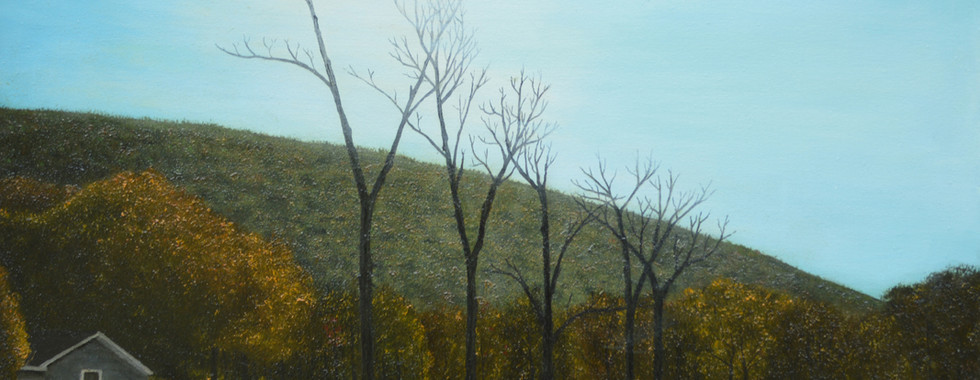 Lone Tree Line Stripped of Life