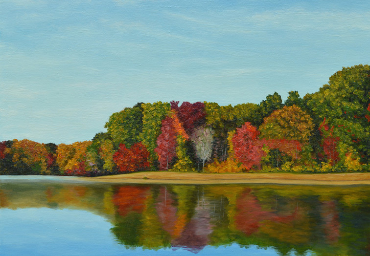 Autumn Reflections - Hidden Lake