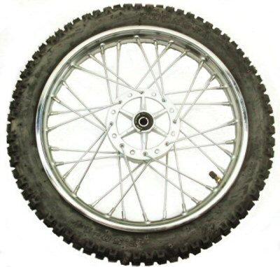 "14"" Dirt Bike Front Wheel Assembly"