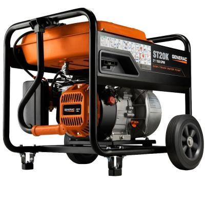 Generac 6822 ST20K Semi-Trash Water Pump