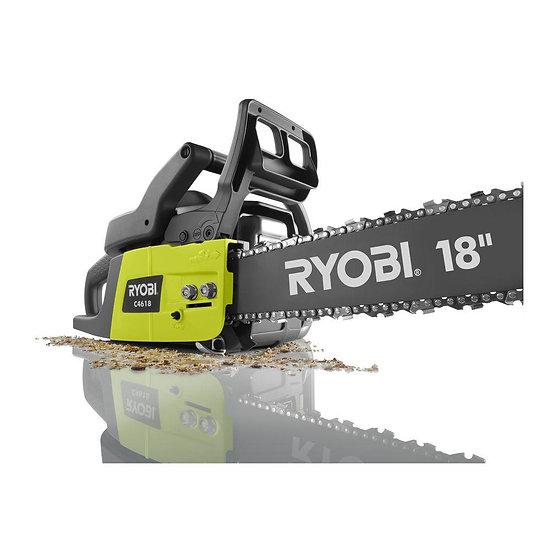 Ryobi 18 in. 2-Cycle 46 cc Gas Chainsaw