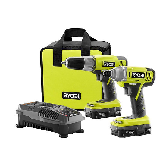Ryobi ONE+ 18-Volt Lithium-Ion Drill and Impact Dr