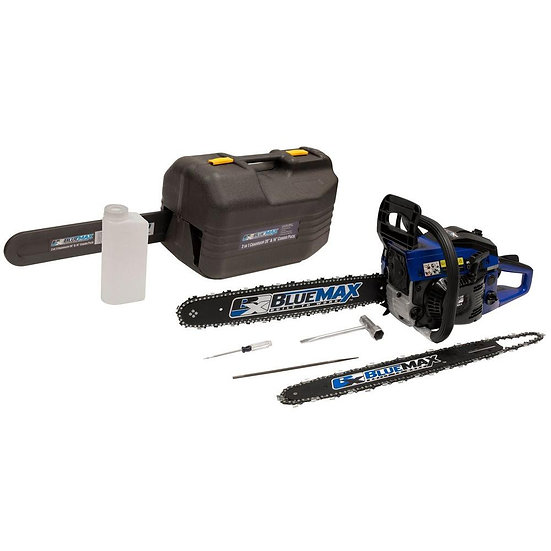 Blue Max 14/20 in. 45 cc Gas Chainsaw Combo with B
