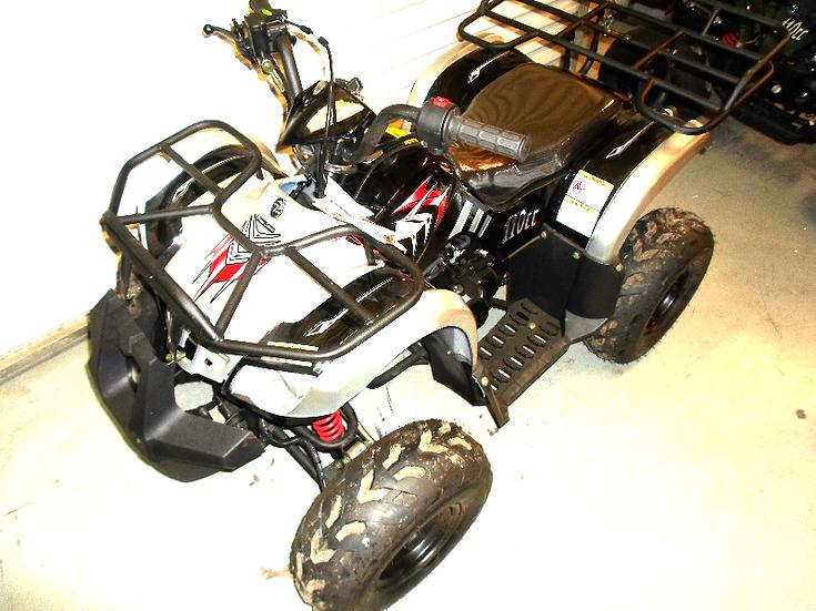 TPATV 512 110cc Black / Siler