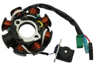 GY6 8 Coil Stator - AC