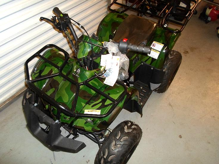 TPATV 512 110ccDeluxe Green Camo