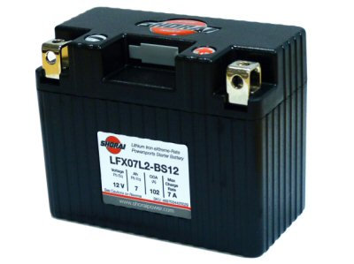 Shorai Lithium Battery 12V 7Ah