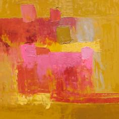 Chanson d'Amour, huile sur toile, 80X100