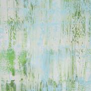 Composition Printanière, huile sur toile, 80X120
