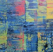 Composition Abstraite, huile sur toile, 89X116