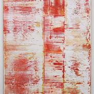 Composition Abstraite, huile sur toile, 80X120