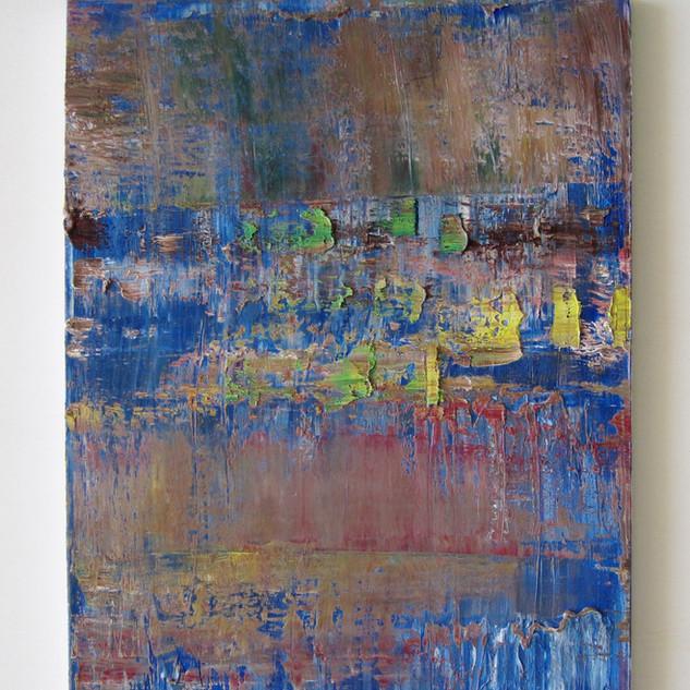 Valse de Violons, huile sur toile, 60X80