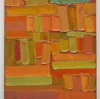 Les Hespéridés, huile sur toile, 80X120