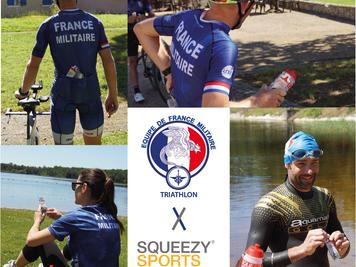 Nouveau partenariat avec l'Équipe de France Militaire Triathlon
