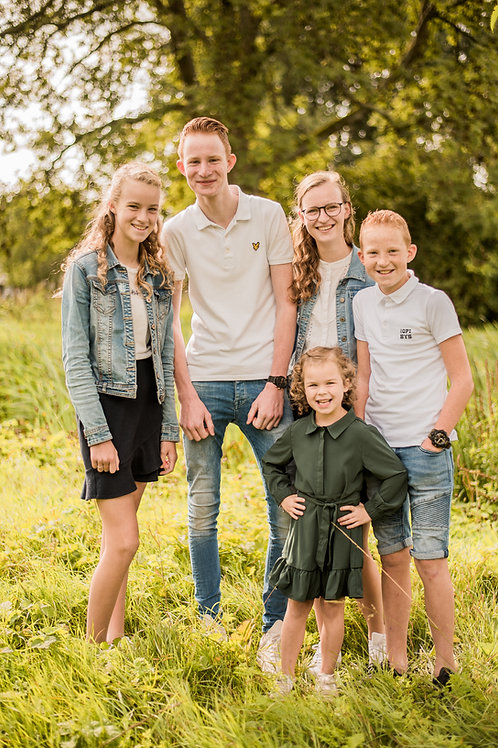 Cadeaubon gezin/familie Pakket A