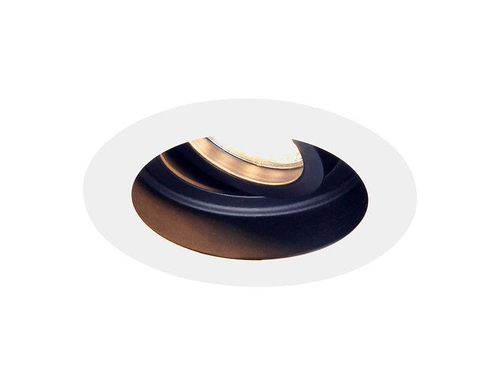 Точечный поворотный светильник MR16 TN176 WH/BK белый/черный