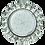 Thumbnail: Встраиваемый светильник GX53 H4 5361 Круг с крупными стразами конус, стекло